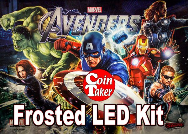 AVENGERS-3 Pro LED Kit w Frosted LEDs