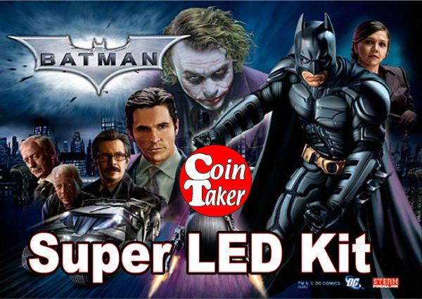 BATMAN TDK-2 Pro LED Kit w Super LEDs