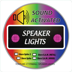 Cointaker Speaker Light Kit Stern Spike