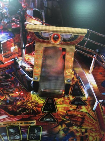 Iron Maiden Pinball Egyptian Archway