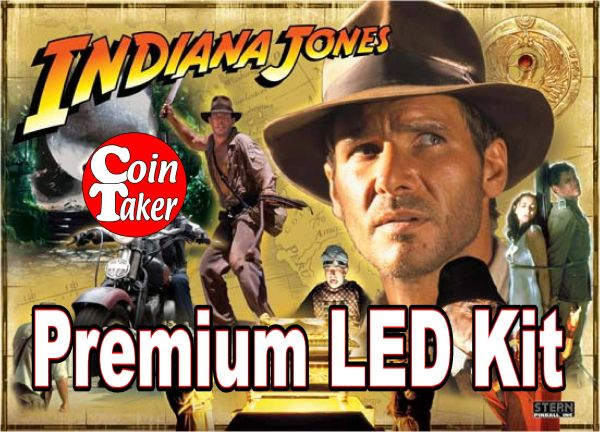 STERN INDIANA JONES-1 LED Kit w Premium Non-Ghosting LEDs
