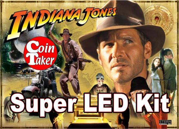 STERN INDIANA JONES-2 LED Kit w Super LEDs