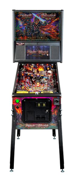BLACK KNIGHT SWORD OF RAGE PREMIUM PINBALL