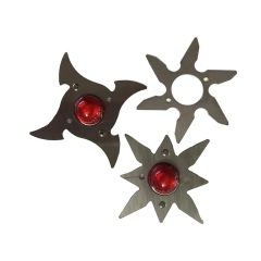 DEADPOOL NINJA STAR POP BUMPER CAP KIT