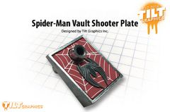 Spider-Man Vault Edition 3D Shooter Plate