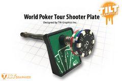 World Poker Tour Shooter Plate