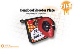 Deadpool 3D Shooter Plate