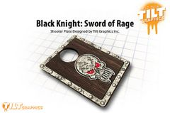 Black Knight: Sword of Rage 3D Shooter Plate
