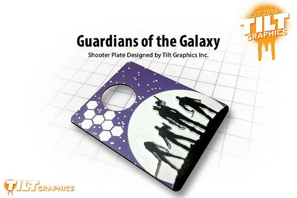 Guardians of the Galaxy 3D Shooter Plate