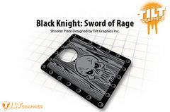 Black Knight: Sword of Rage Shooter Plate