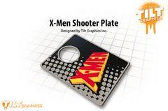 X-Men 3D Shooter Plate
