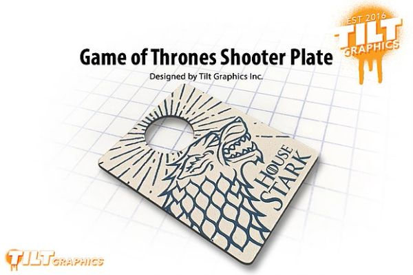 Game of Thrones Shooter Plate