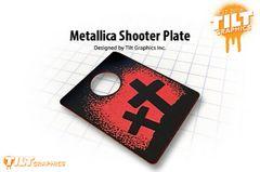 Metallica Shooter Plate