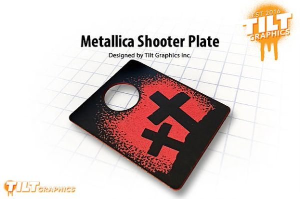 Metallica Shooter Plate