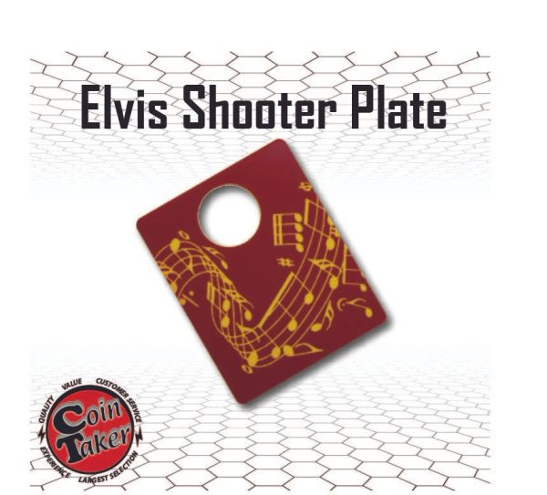 Elvis Shooter Plate