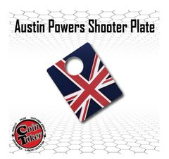 Union Jack 3D Shooter Plate