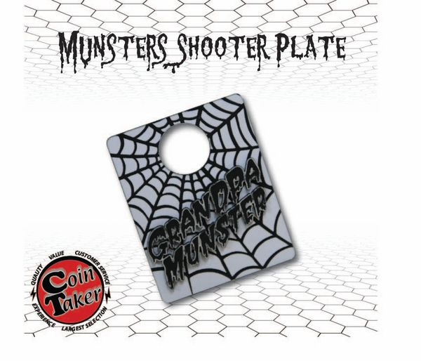 Munster's Grandpa 3D Shooter Plate