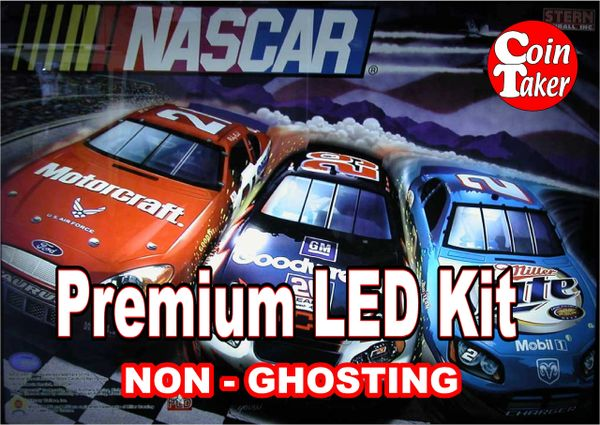 NASCAR-1 LED Kit w Premium Non-Ghosting LEDs