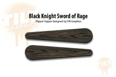 Black Knight Sword of Rage Flipper Toppers