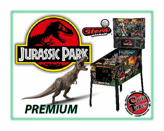 Jurassic Park Premium Pinball by Stern