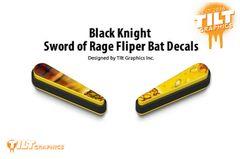 Black Knight Sword of Rage: Coins Flipper Bat Decals
