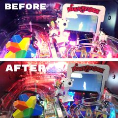 Willy Wonka Pinball Backboard Illumination with Power Adapter