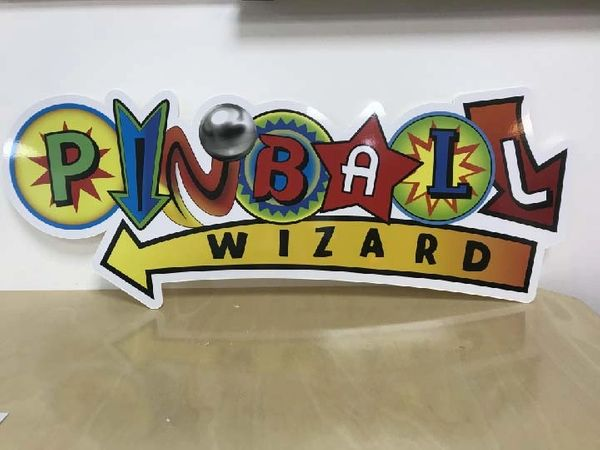 PINBALL WIZARD SIGN
