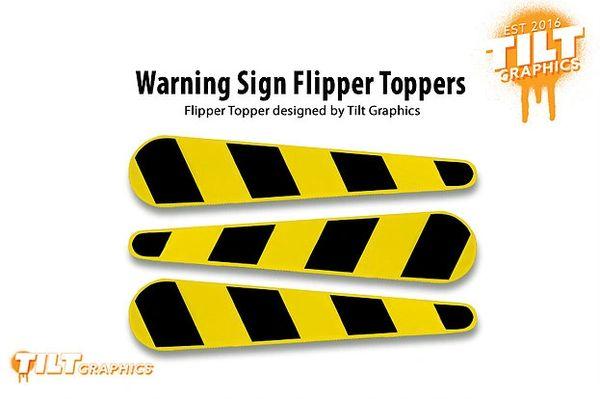 "Jurassic Park ""Hazard"" Flipper Toppers- TG"