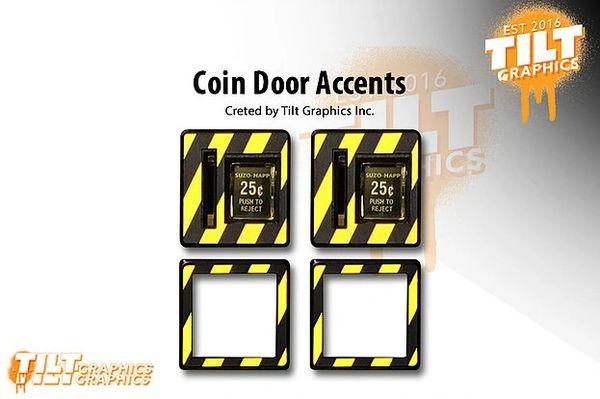 Coin Door Accents