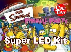SIMPSONS PINBALL PARTY-2 LED Kit w Super LEDs