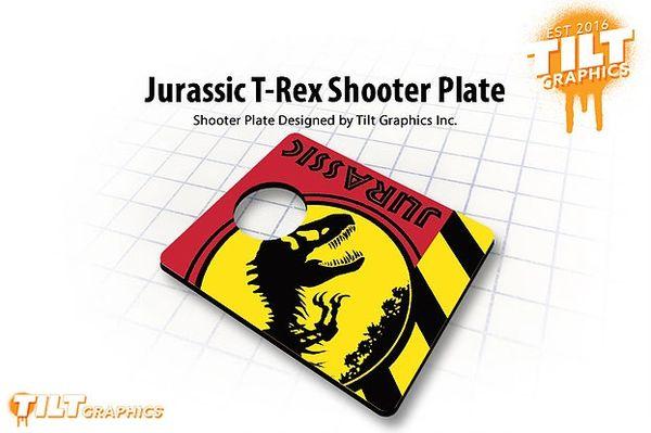Jurassic T-Rex Shooter Plate