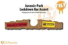 Jurassic Park (Stern) Lockdown Bar Accents