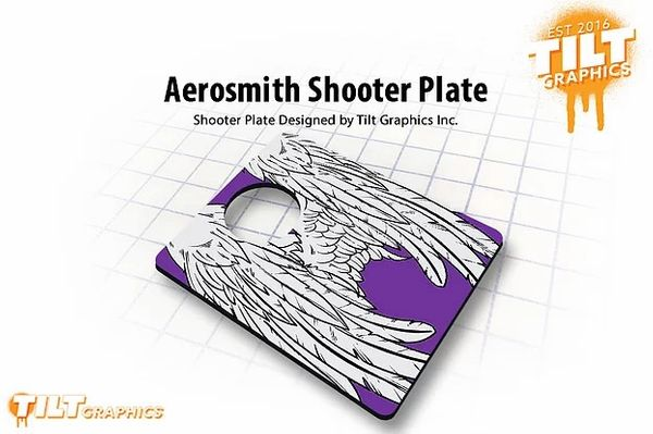 Aerosmith Shooter Plate