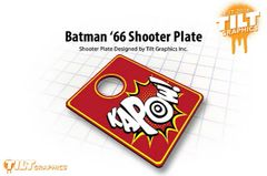 Batman '66 Kapow Shooter Plate