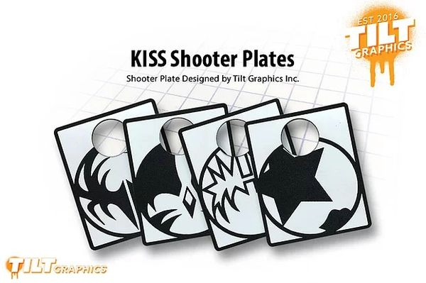 KISS Icon Shooter Plate