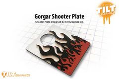 Gorgar Shooter Plate