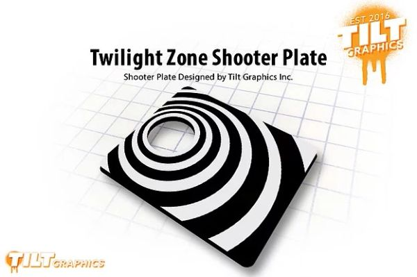 Twilight Zone Shooter Plate