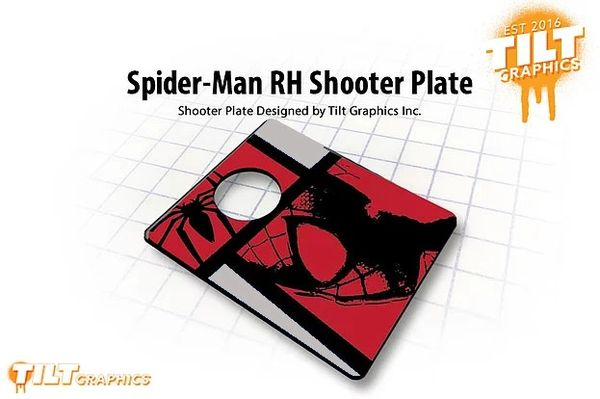 Spider-Man RH Shooter Plate