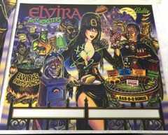 ELVIRA AND THE PARTY MONSTERS AUTOGRAPHED BANNER