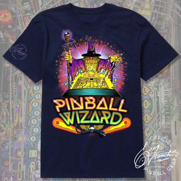 PINBALL WIZARD T-SHIRT Franchi