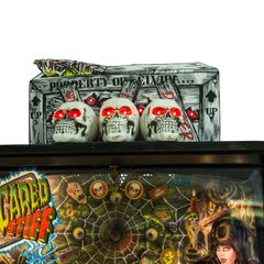 SCARED STIFF METAL PINBALL TOPPER