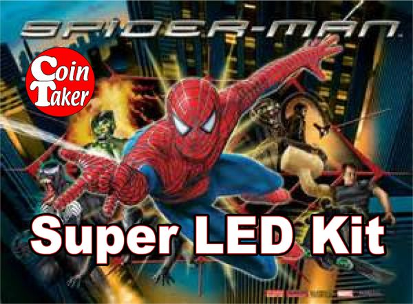 SPIDERMAN / & BLACK-2 LED Kit w Super LEDs