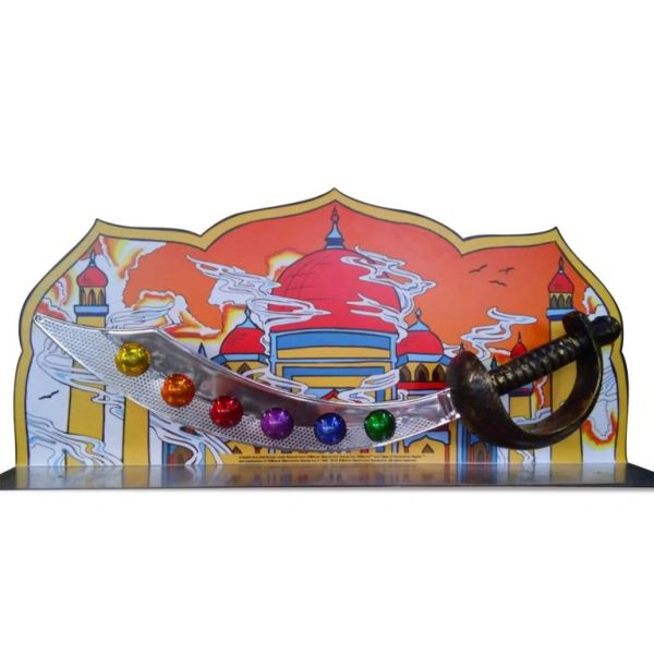 TALES OF ARABIAN NIGHTS METAL PINBALL TOPPER