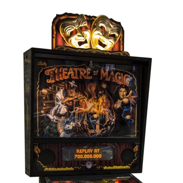 THEATRE OF MAGIC PINBALL TOPPER