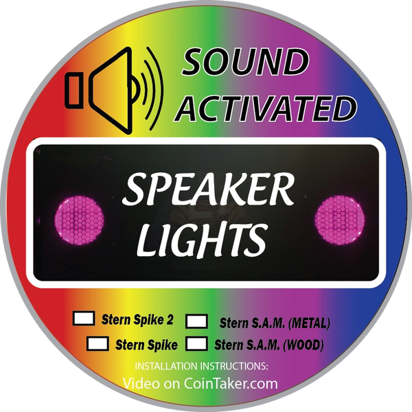 COINTAKER SPEAKER LIGHT KITS BUY 1, GET 1 50% OFF