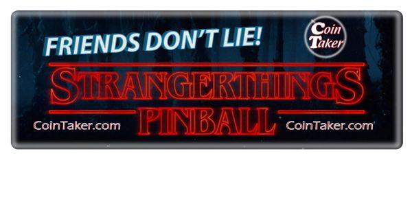 Stranger Things Limited Edition Pinball by Stern