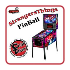 Stranger Things Stern PRO PINBALL MACHINE