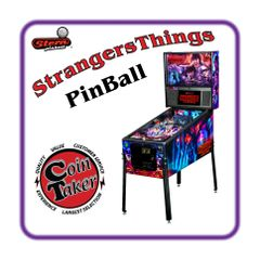 Stranger Things Premium Pinball by Stern