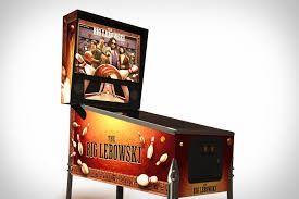 THE BIG LEBOWSKI PINBALL CABINET DECAL SET