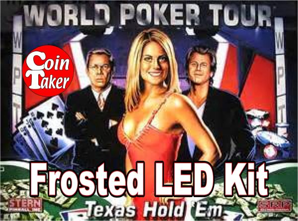 WORLD POKER TOUR-3 Pro LED Kit w Frosted LEDs